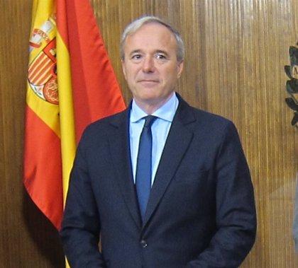 Azcón agradece al PSOE la colaboración y recuerda que ya ha aplicado medidas fiscales