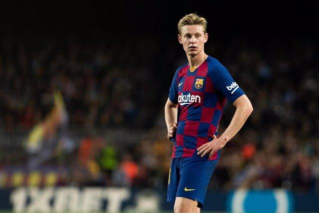El jugador del FC Barcelona Frenkie de Jong
