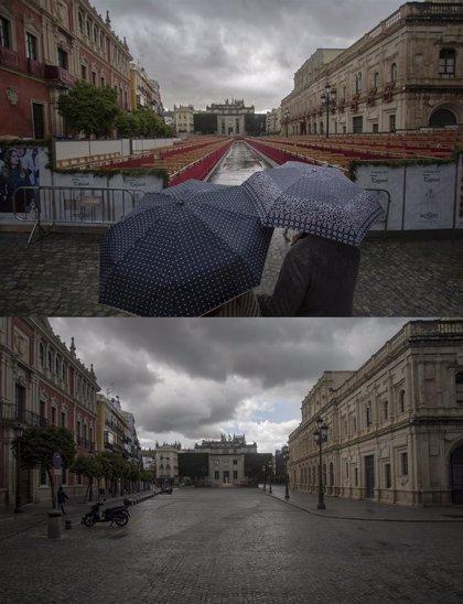 La Semana Santa en casa será lluviosa e inestable en buena parte de España, sobre todo en la mitad oeste
