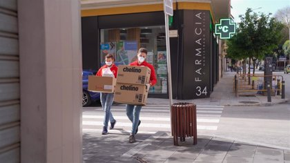 Nueve equipos de fútbol andaluces se suman a campaña de Cruz Roja de ayuda a 1,3 millones de españoles por coronavirus