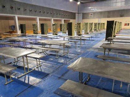 El nuevo recurso de La Petxina abre este martes sus puertas para alojar a personas sin hogar