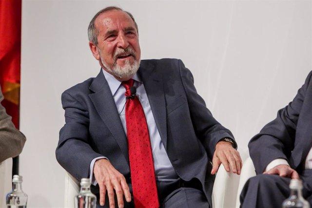 El ex alcalde de Madrid: Juan Antonio Barranco Gallardo. Archivo.