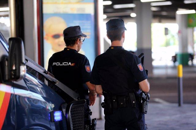 Imagen de recurso de agentes de la Policía Nacional.