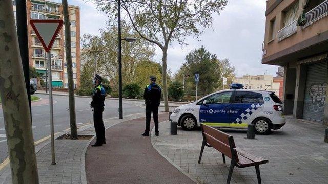 La Guardia Urbana de Reus (Tarragona).