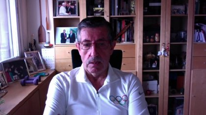 "José Perurena celebra su triunfo contra el coronavirus: ""Me esforcé por cruzar la línea de meta"""