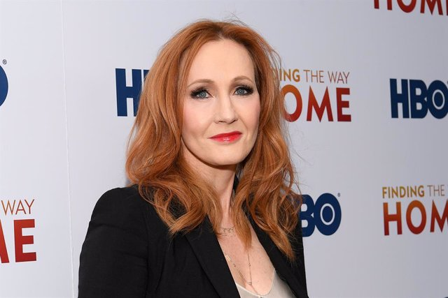 "J.K. Rowling en la premiere del documental ""Finding The Way Home"" de HBO"