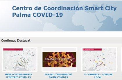 Cort lanza una web con información oficial sobre la COVID-19, iniciativas ciudadanas y mapas de comercios