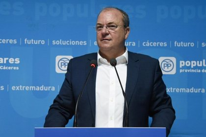 """Monago reitera la necesidad de que se permita a los grupos políticos ejercer el """"control al Gobierno"""" en la Asamblea"""
