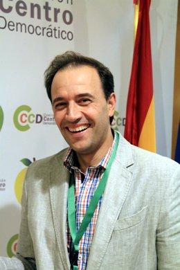 El portavoz de CCD-CI en Aldeamayor, Félix Antonio Calleja Bolado.