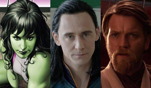 Series de Marvel y Star Wars en Disney+
