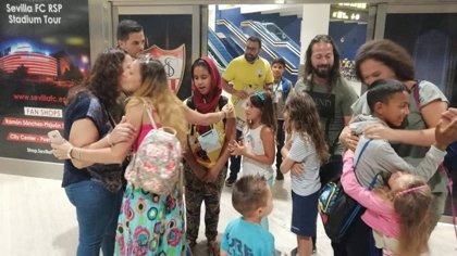Suspendido por el coronavirus el Programa Vacaciones en Paz, por el que viajan a España niños saharauis