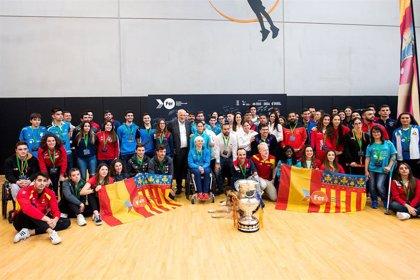 El Proyecto FER 2020 destinará 1,2 millones de euros para apoyar a 142 deportistas valencianos