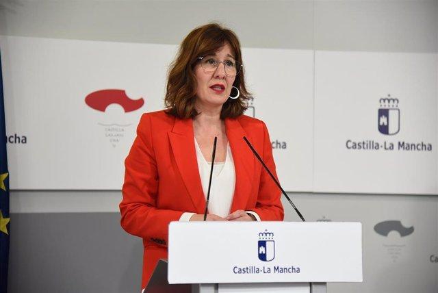 La portavoz de C-LM, Blanca Fernández.