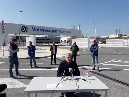El comité de Volkswagen Navarra pide a la empresa que garantice el empleo fijo y eventual
