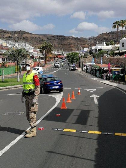 La Armada mantiene el despliegue de sus efectivos en diversos municipios de Gran Canaria