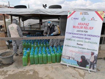 La Diputación Provincial destina 20.000 euros en ayuda de urgencia a los campos de refugiados sirios