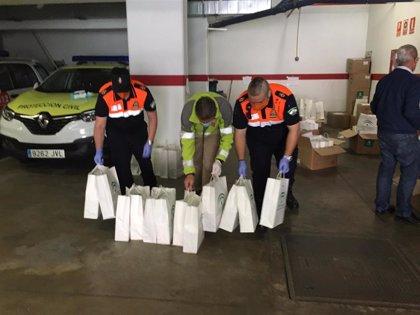 Junta entrega en los últimos seis días 69.000 mascarillas para ayuda a domicilio