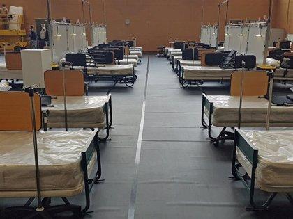 El hospital de campaña de Guttmann recibe a los primeros pacientes de Can Ruti