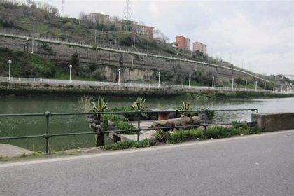 Alertan de desbordamientos de la Ría de Bilbao a su paso por Ribera de Deusto y Ribera de Zorrotzaurre