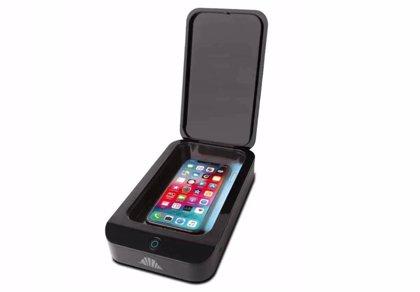 UV Shield, el accesorio que usa rayos ultravioleta para limpia el 'smartphone' de gérmenes