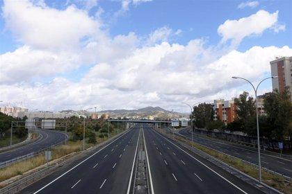 El descenso del tráfico se mantiene en esta cuarta semana bajo Estado de Alarma, con una bajada del 72,78%