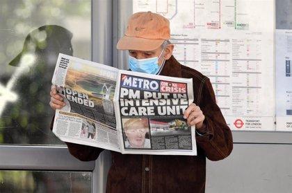 Reino Unido registra una cifra récord de 786 fallecidos mientras que suma ya más de 55.000 casos