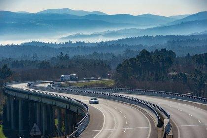 El tráfico en la AP-9 desciende un 94,6% en el último mes y alcanza su mínimo histórico