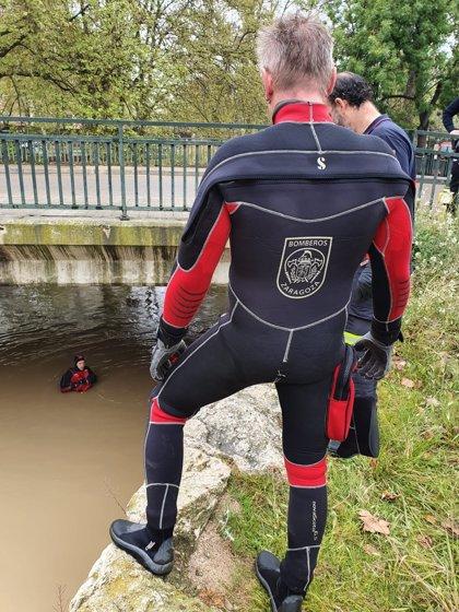 Sucesos.- Localizan en el Canal Imperial el cuerpo de un vecino de Herce (La Rioja) desaparecido el pasado dos de abril