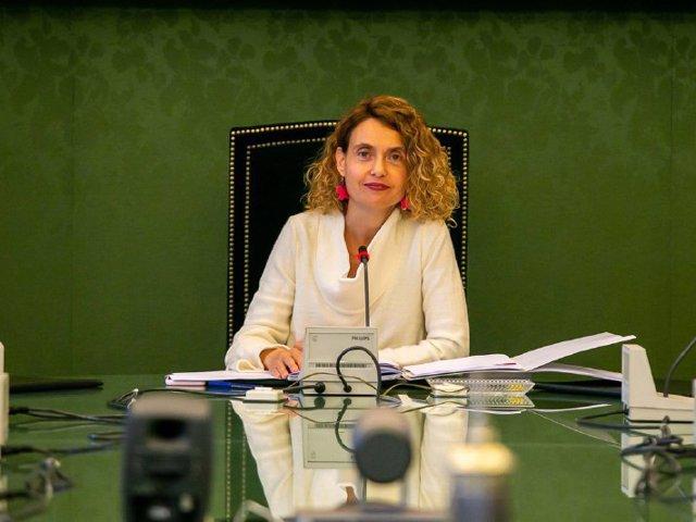 La presidenta del Congreso, la socialista Meritxell Batet