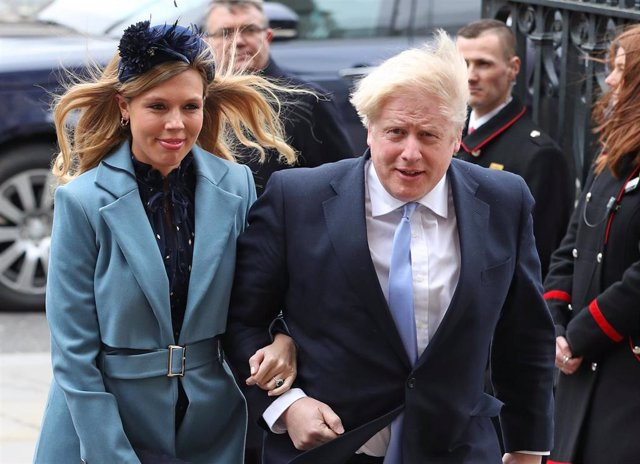 Boris Johnson y Carrie Symonds se van a convertir en papás