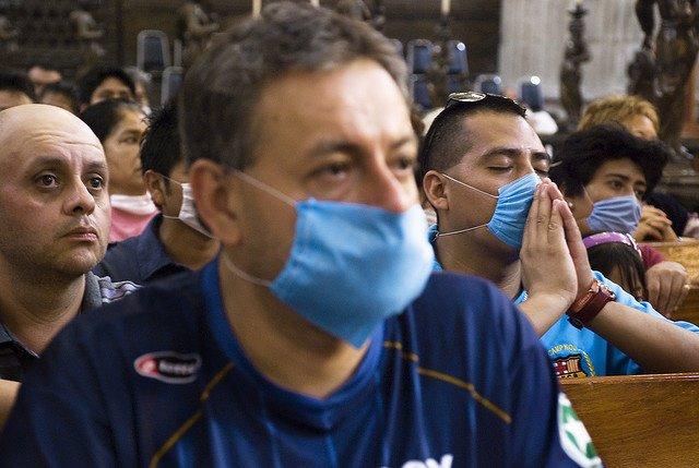 Gripe, epidemia, mascarillas