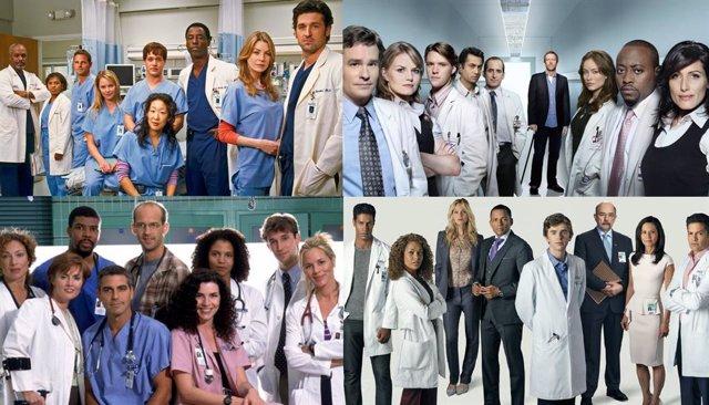 Series de televisión de médicos y hospitales