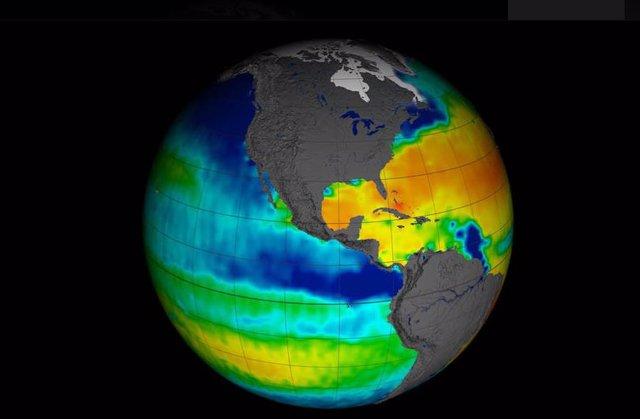 Observación de satélite de El Niño