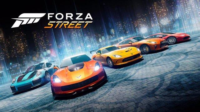 El videojuego para móviles Forza Street.