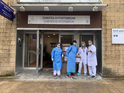Forum Sport dona máscaras de buceo y prendas de abrigo para luchar contra el coronavirus