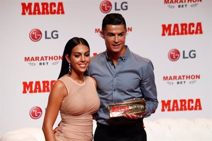 Georgina Rodríguez y Cristiano Ronaldo se comparan con dos animales entrenando. ¿Quieres saber cuáles?