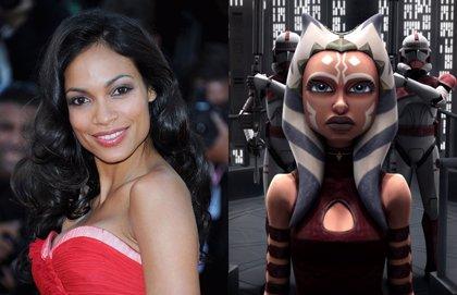 La Ahsoka Tano de Rosario Dawson estará en The Mandalorian y otras series de Star Wars