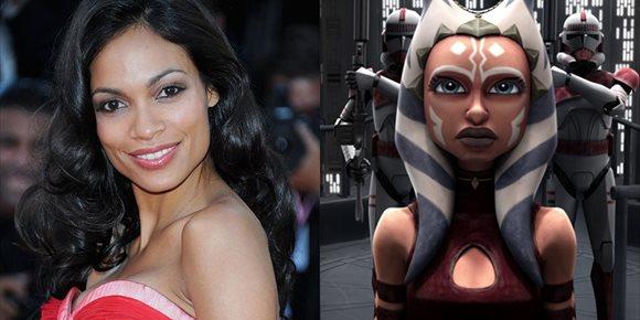 1. La Ahsoka Tano de Rosario Dawson estará en The Mandalorian y otras series de Star Wars