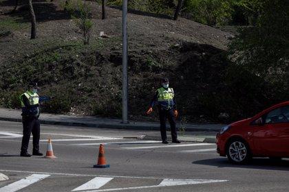 El tráfico bajó un 70,29% este martes, un descenso menor que el registrado el pasado lunes