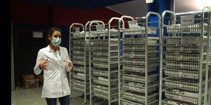"""Coronavirus.- La farmacia del hospital de Ifema afronta cada día """"un reto diferente"""""""