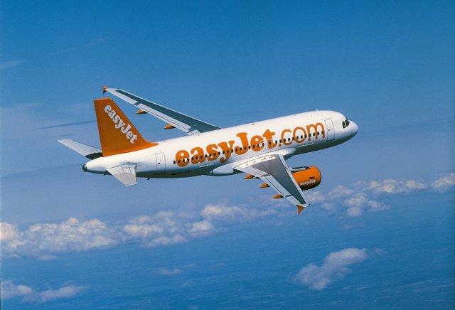 Avión de easyJet, en una imagen de archivo.