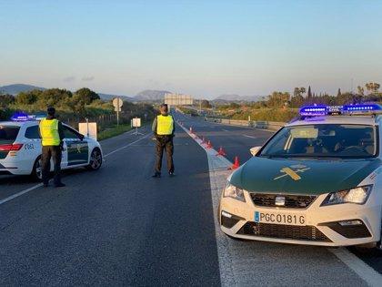 Refuerzan los controles en las carreteras de Baleares para evitar desplazamientos en Semana Santa