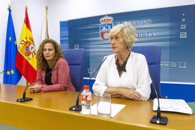La consejera de Educación, Formación Profesional y Turismo, Marina Lombó