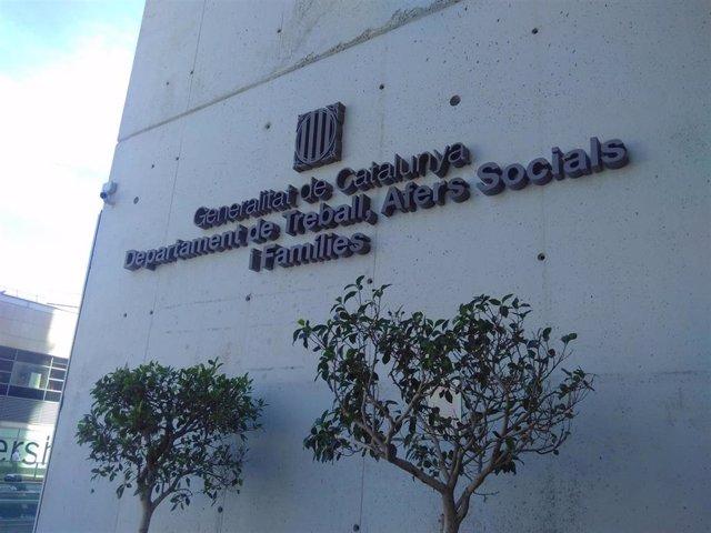 Sede de la Conselleria de Trabajo, Asuntos Sociales y Familias de la Generalitat (archivo)