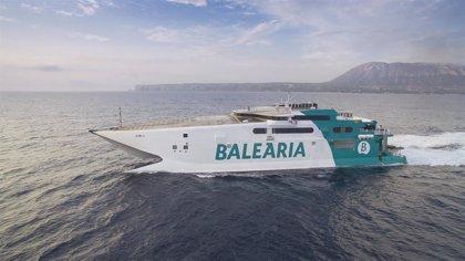 La facturación de Baleària aumenta un 19% en 2019, y sube un 3% el tráfico de pasajeros y un 5% el de mercancías