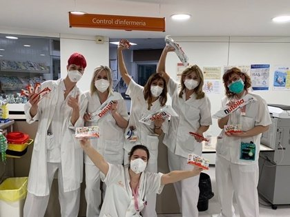 Ferrero Ibérica dona producción a Cruz Roja, hospitales y hoteles sanitarios