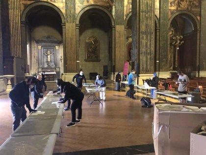 El Obispado de Vic (Barcelona) gestiona la donación de 4.200 pantallas protectoras