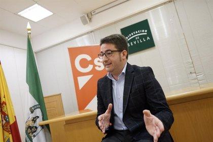 Cs Sevilla propone que Diputación active ayudas urgente y a fondo perdido para autónomos y pymes