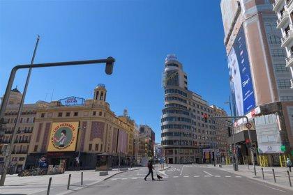 Semana Santa, así es Madrid vacío...