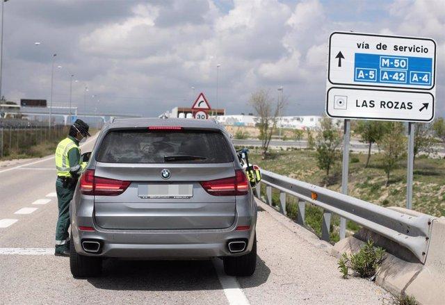 Tráfico.- La DGT aclara que las retenciones de este mediodía en Madrid eran por